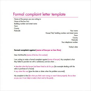complaint form template misc excellent complaint letters to boss about issues template