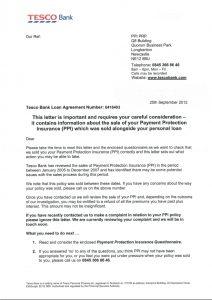 complaint letters samples ppi complaint letter ppi claim ppi cover letter insurance demand