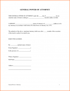 complaints letter sample printable power of attorney