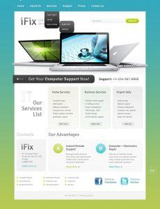 computer repair website computer repair website template home big