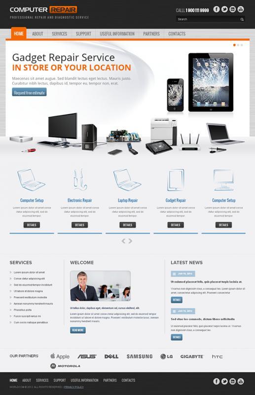 computer repair website