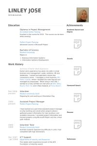 computer science resume example assistantprojectmanagerresume example