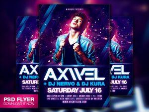 concert poster template special guest dj flyer template psd by art miranax duezs