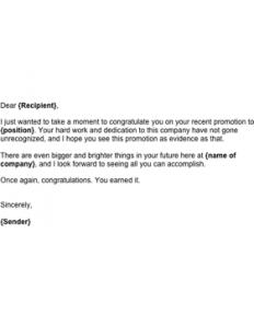 congratulation e mail promotion congratulations