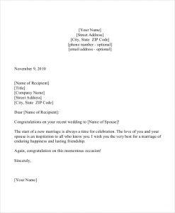 congratulation e mail wedding congratulation letter template