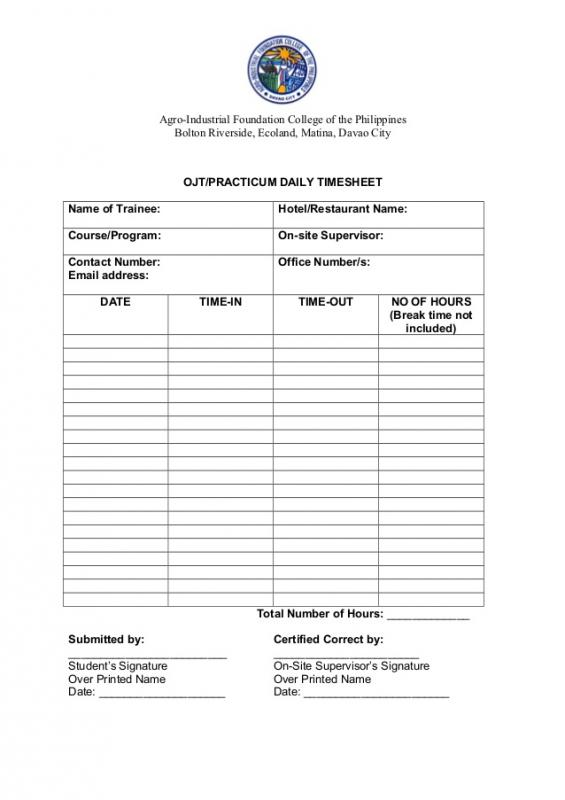 consent form template