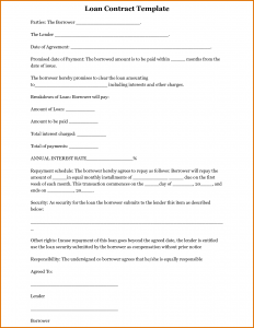 consignment agreement form personal loan agreement template