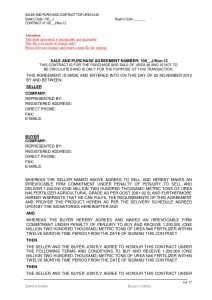 consignment agreement form urea draft contract k mt lc bgsblc