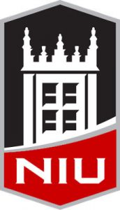 construction company logo niu logo red