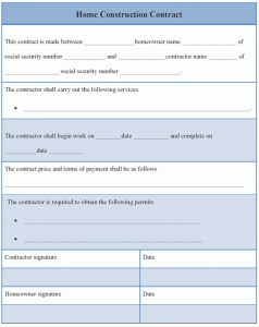 construction contract template home construction contract template x