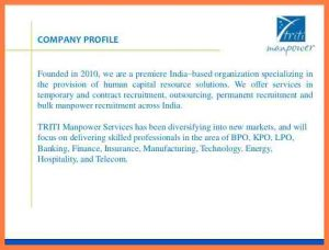 construction proposal example recruitment agency company profile sample triti manpower proposal cb