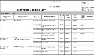 construction punch list template picture