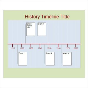 construction timeline template sample history timeline