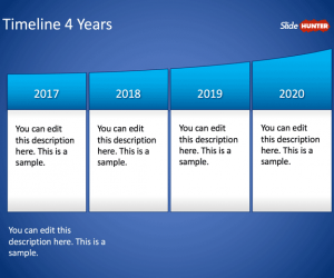 construction timeline template simple timeline powerpoint years x