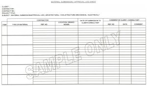 construction work order template material app