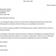 contract cancellation letter contract cancellation letter