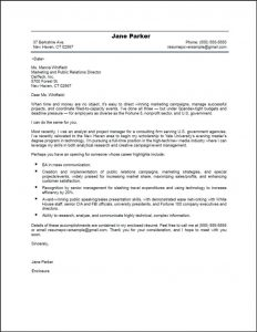 contract specialist resume public relations cover letter jane parker