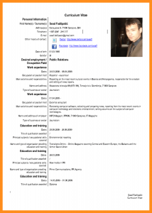 contract template word cv english example pdf