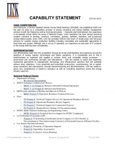 contractor agreement template link capabilities statement