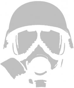 cool stencils for spray painting cool gas mask stencils