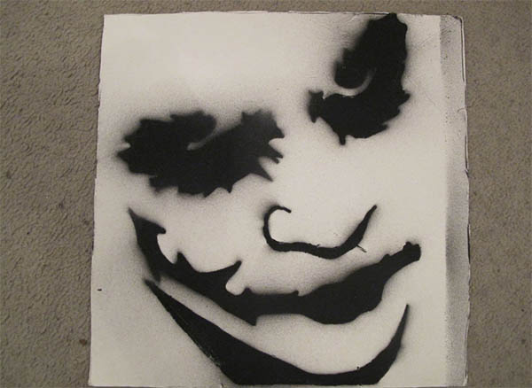 cool stencils for spray painting