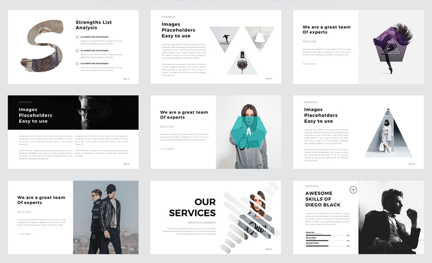 cool website templates