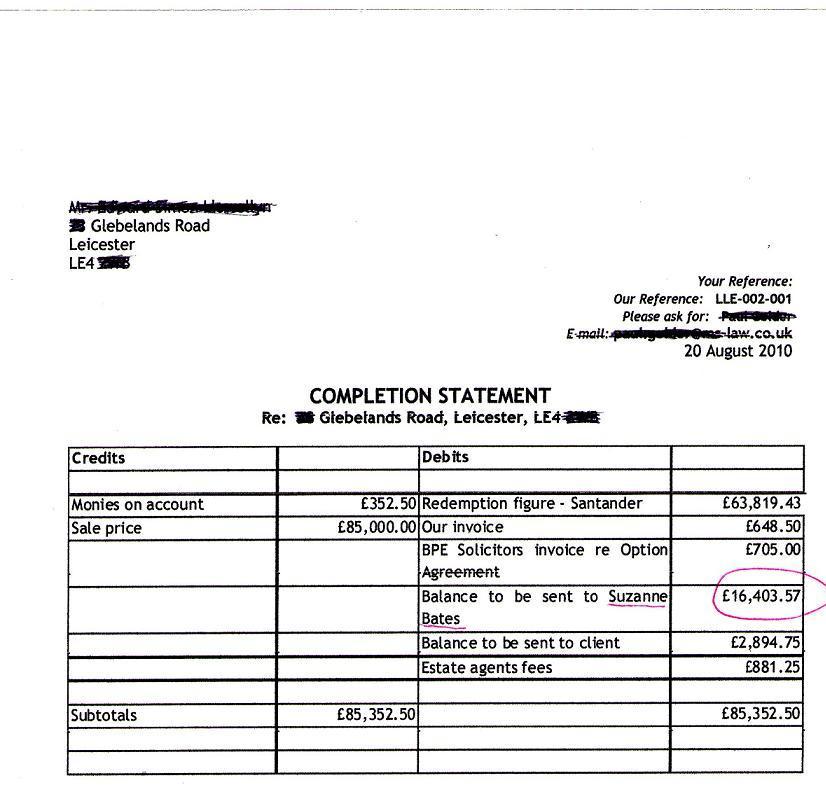 copy of bill of sale