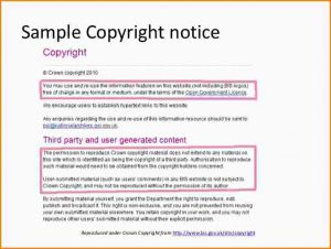 copyright notice format copyright notice example copyright law and your thesis cb