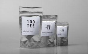 corporate identity package tee tea corporate logo identity design german minimalism bauhaus graphics packaging