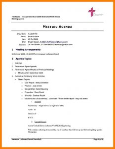 corporate minutes template sample board meeting agenda board meeting agenda template word