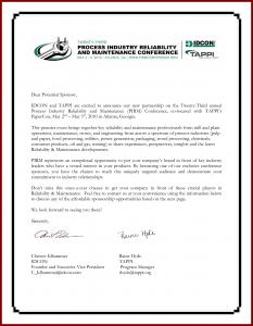 corporate sponsorship letter corporate sponsorship letter example