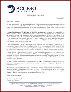 corporate sponsorship letter sample corporate sponsorship proposal