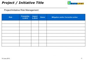 corrective action plan template bsc how to fill initiatives templates june