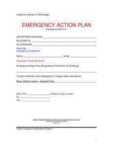 corrective action plan template emergency action plan template musicax intended for emergency action plan template