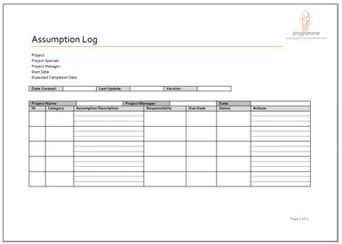 cost estimate template