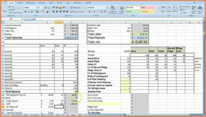 cost estimate template construction job costing spreadsheet cost estimating with excel for the contractor