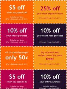 coupon book template coupon book template