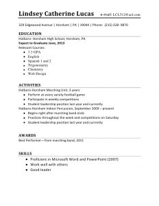 cover letter for college application high school student resume mdetpyi