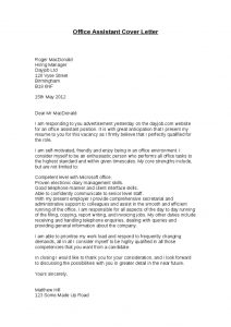 cover letter for graphic designer office assistant cover letter hashdoc office assistant cover letter