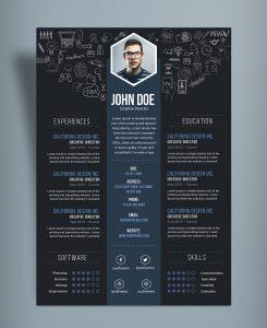 cover letter free template free creative resume cv designtemplate psd file