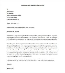 cover letter templates word accountant job application cover letter template word doc