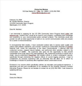cover letter templates word resume cover letter for internship word free download