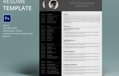 cover letter word template resume