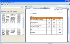 credit application pdf screen shot at