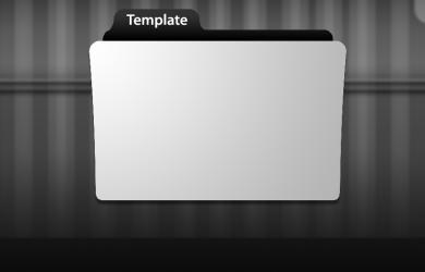 credit application template folder icon tempalte by spctrmtr