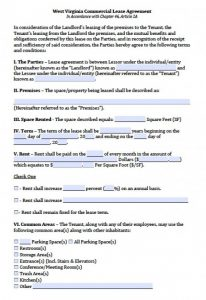 credit application template west virginia commercial lease agreement x
