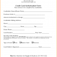 credit card authorization form template credit card authorization form template 2618827