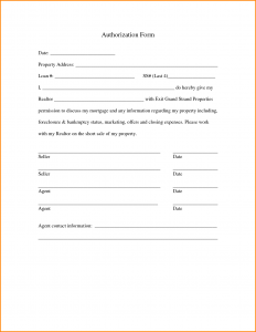 credit card authorization template authorization form