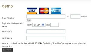 credit card authorization template rsmembership credit card form