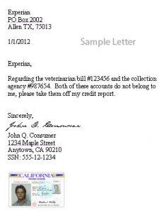 credit repair letters pdf thumb dispute letter